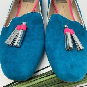 Dolce Vita Shoes - dolce vita nalla teal tassel loafer flats sz 9